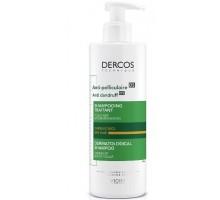 DERCOS Интенсивный шампунь-уход против перхоти для сухих волос 390 мл