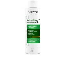 DERCOS Интенсивный шампунь-уход против перхоти для сухих волос 200 мл