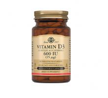 Солгар витамин Д3 600 МЕ, 60 капсул (Solgar, Vitamin D)