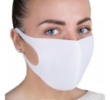 Защитная маска из неопрена, цвет белый 1 шт