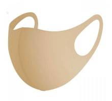 Защитная маска из неопрена, цвет бежевый 1 шт
