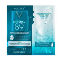 Виши Минерал 89 экспресс-маска на тканевой основе из микроводорослей (Vichy, Mineral89)