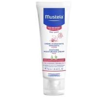 Мустела Бебе увлажняющий успокаивающий крем для лица, 40 мл (Mustela, Very Sensitive Skin)