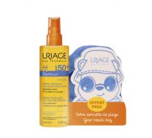 Набор Урьяж Барьесан (спрей для детей spf 50 + пляжное полотенце)  (Uriage, Bariesun)