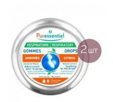 Пюресансьель набор пастилки для горла смягчающие 2 упаковки (Puressentiel)