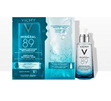 Виши Минерал 89 набор: гель-сыворотка, 50 мл + тканевая маска (Vichy, Mineral 89)