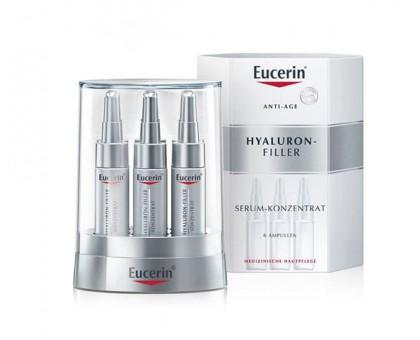 Эуцерин Гиалурон-филлер сыворотка-концентрат против морщин, 6*5 мл (Eucerin, Hyaluron-filler)