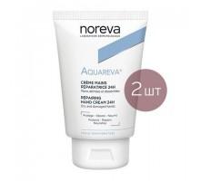 Норева Акварева набор: крем для сухой кожи рук, 50 мл*2 шт (Noreva, Aquareva)