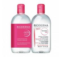 Биодерма Дуопак Сенсибио мицеллярная вода 2*500 мл (Bioderma, Sensibio)