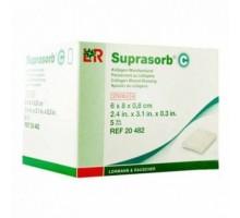 Супрасорб С - коллагеновая повязка, 6x8 см (Suprasorb C)