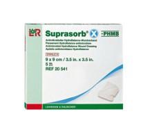Супрасорб X+PHMB гидробаланс противомикробный 9*9 см 1 шт (Suprasorb X+PHMB)