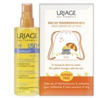 Набор Барьесан спрей для детей SPF 50+ 200 мл + рюкзак для пляжа (Uriage, Bariesun)