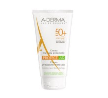 Адерма Протект AD солнцезащитный крем SPF 50+, 150 мл (A-Derma, Protect)