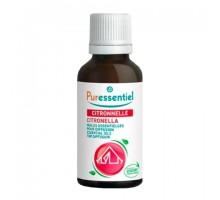 Пюресансьель комплекс эфирных масел Цитронелла + 3 эфирных масла, 30 мл (Puressentiel)
