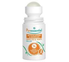 Пюресансьель массажный шариковый роллер расслабляющий и успокаивающий, 75 мл (Puressentiel)