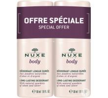 Нюкс Боди дуопак дезодорант шариковый длительного действия, 2*50 мл (Nuxe, Nuxe body)