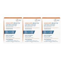 Дюкре Набор: Анакапс три-актив 3 упаковки по 30 капсул (Ducray, Биодобавка к пище)