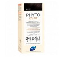 Фито Фитоколор краска для волос 3 оттенок темный шатен (Phyto)