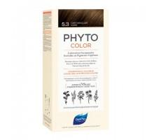 Фито Фитоколор краска для волос 5.3 оттенок светлый золотистый шатен (Phyto)
