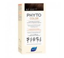 Фито Фитоколор краска для волос 5.7 оттенок светлый каштан (Phyto)