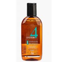System 4 Shampoo № 1 Шампунь терапевтический с климбазолом, для нормальных и жирных волос 100 мл