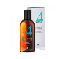 System 4 Shampoo № 1 Шампунь терапевтический с климбазолом, для нормальных и жирных волос 215 мл
