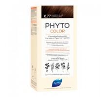 Фито Фитоколор краска для волос 6.77 оттенок Светлый каштан - капучино (Phyto)