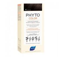 Фито Фитоколор краска для волос 4 оттенок Шатен (Phyto)