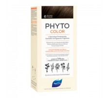 Фито Фитоколор краска для волос 6 оттенок Темный блонд (Phyto)
