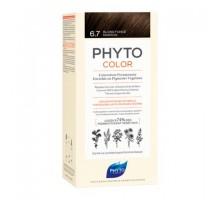 Фито Фитоколор краска для волос 6.7 оттенок Темный шоколадный блонд (Phyto)