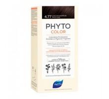 Фито Фитоколор краска для волос 4.77 оттенок Насыщенный глубокий каштан (Phyto)